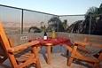 סוויטת הגג- פינה רומנטית משקיפה לנוף