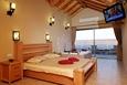 סוויטת הגג- חדר השינה