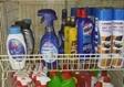מוצרי נקיון במעלה אדומים