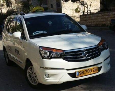 אורן אקספרס מונית 6 מקומות