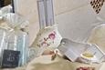 פינוקים מים המלח - בחדר הרחצה