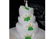 עוגת חתונה במעלה אדומים